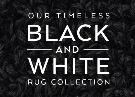 Black and White rug collection