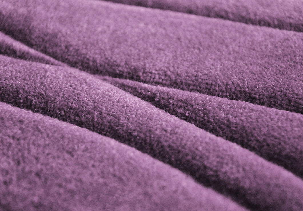 Close view of our Adele Rug in Violet | Urba Rugs