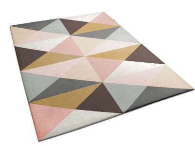 Colorful, Triangle Pattern Rug | Anais | Urba Rugs