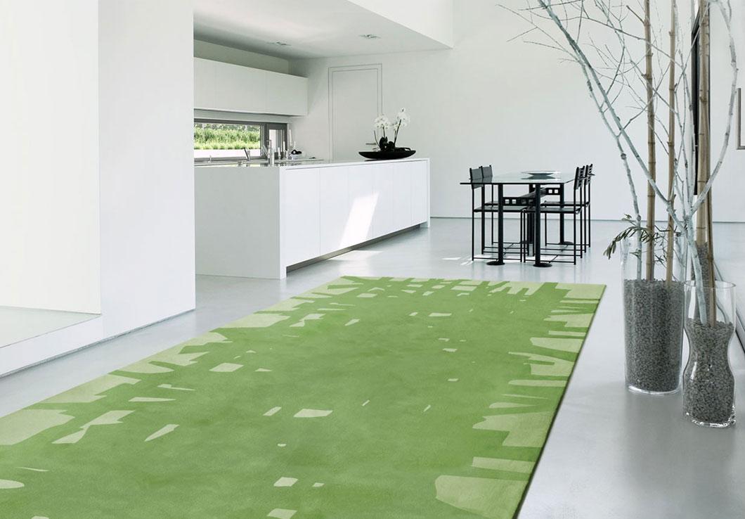 Edgar Rug In a White Minimalist Interior Space | Urba Rugs