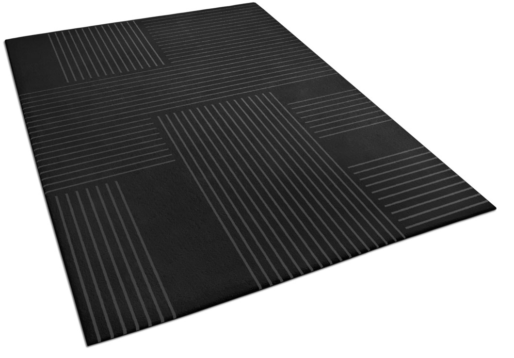 Contemporary Rug with Perpendicular Stripes | Edouard | Urba Rugs