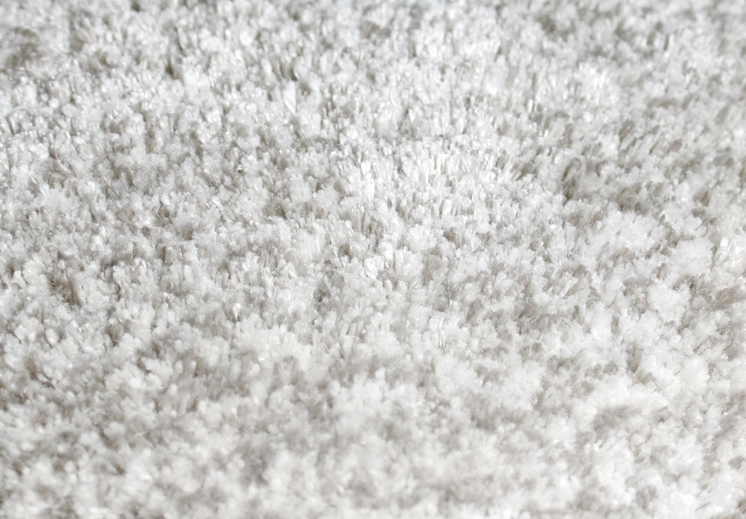 Modern Shiny Rug in Pale Gray and Taupe, Made of Linen and Bamboo | Emma | Urba Rugs