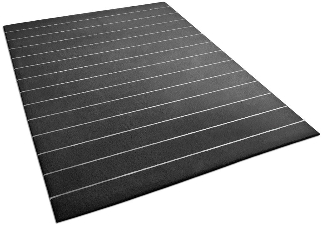 Black and White Striped Rug | Estelle | Urba Rugs