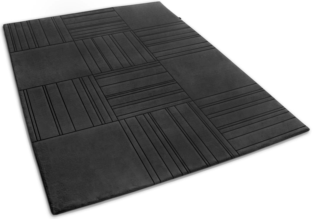 Modern Rug Inspired by Tiles with Line Pattern | Felix | Urba Rugs