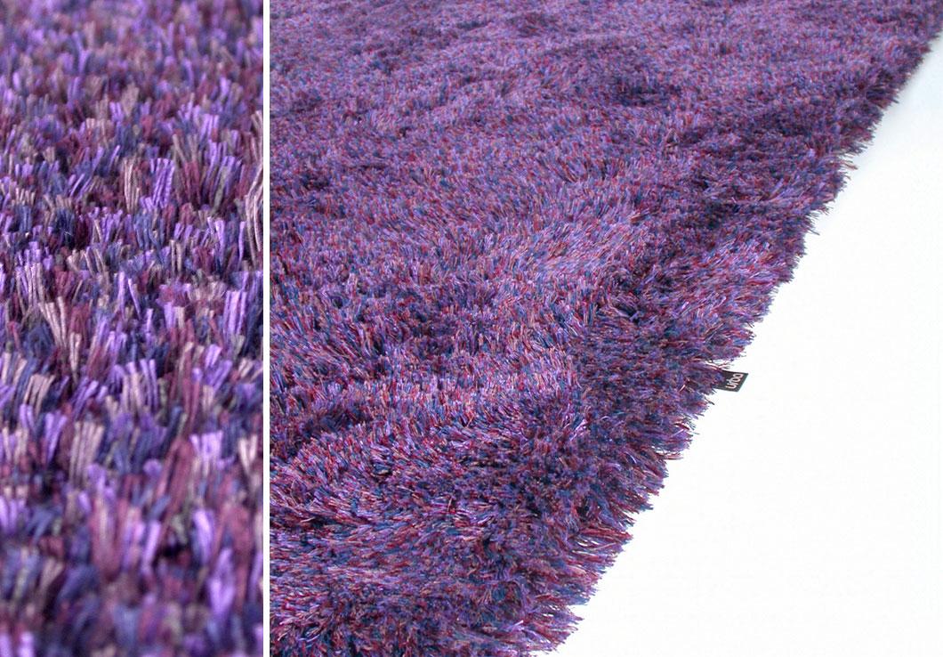 High-End Sparkle Area Rug Made of Linen Yarn   Lola   Urba Rugs