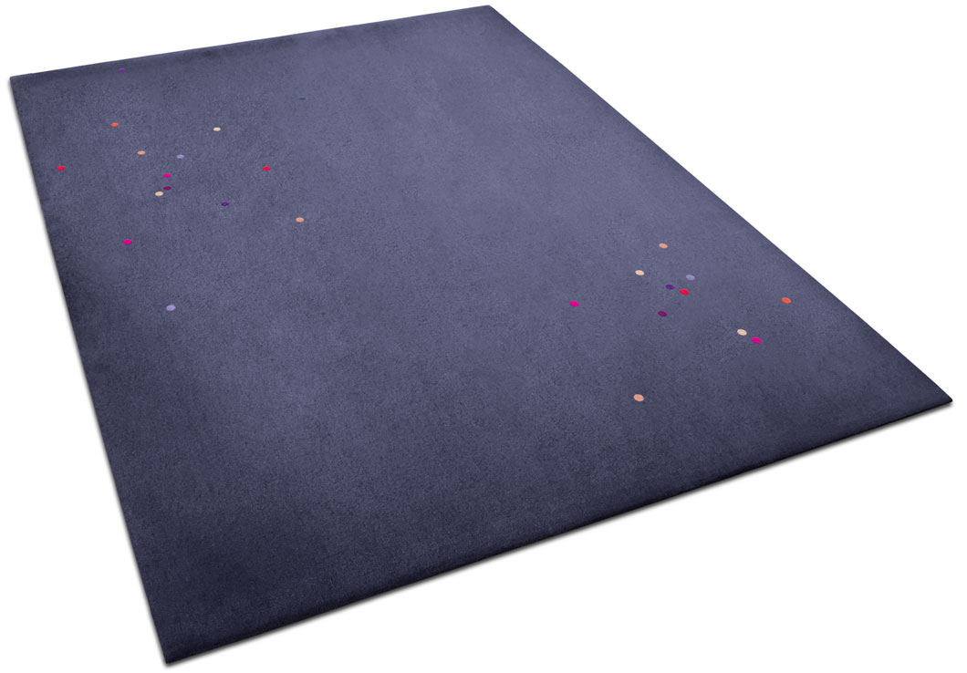 Playful Area Rug with Small Multicoloured Circles | Loulou | Urba Rugs