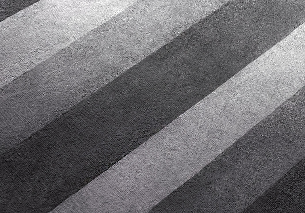 Close-view of Hand Tufted Rug in Shades of Gray | Nico | Urba Rugs