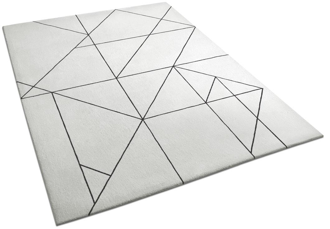 Art Deco Rug with Geometric Angular Lines | Noah | Urba Rugs