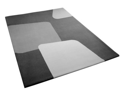 Geometric Rug with Bold Abstract Shape Pattern | Roch | Urba Rugs