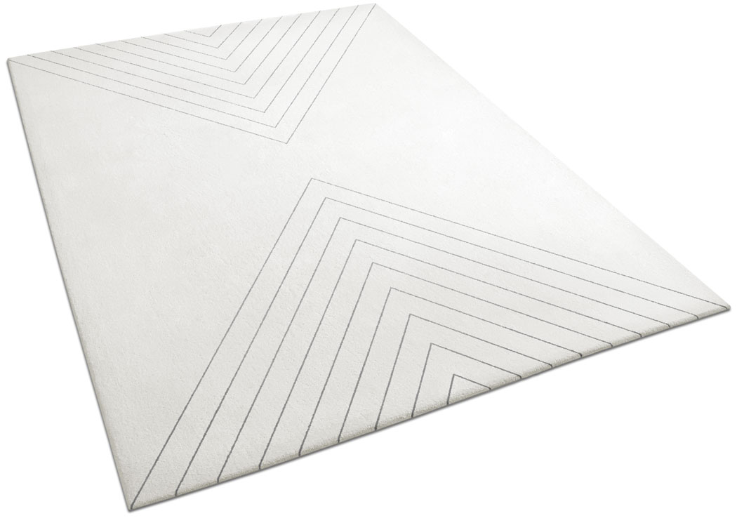 Art Deco-inspired Rug with Diagonal Lines | Axel | Urba Rugs