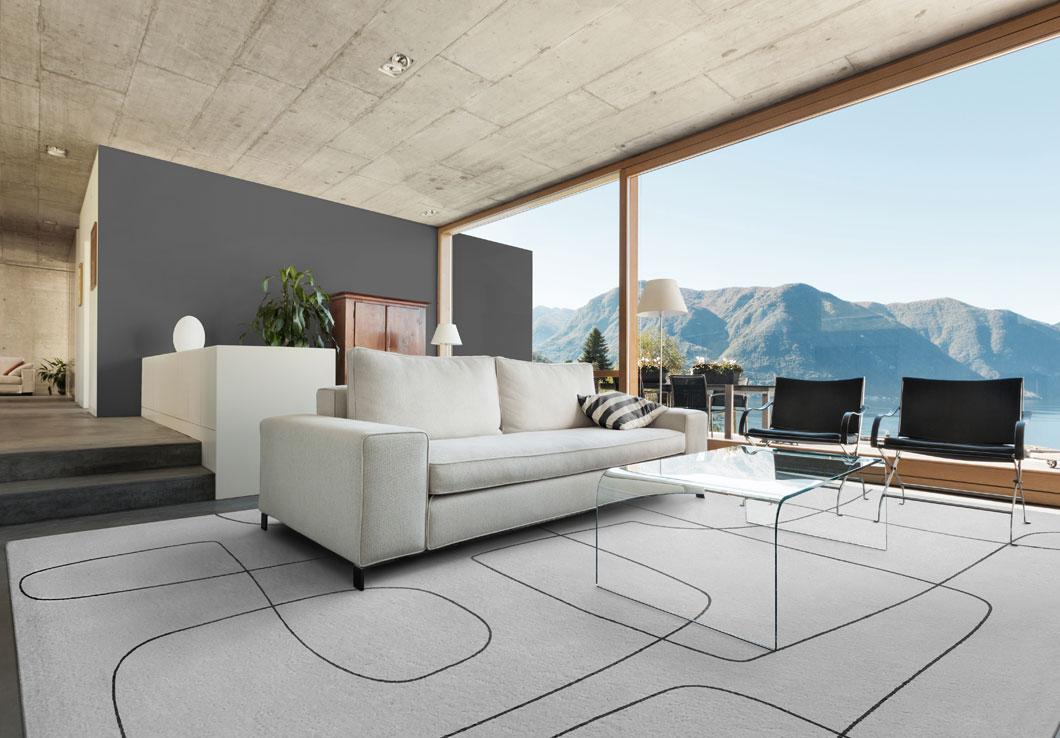 Mid-Century Rug in a Modern Interior Design | Urba Rugs