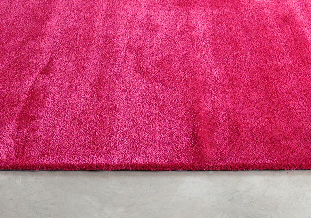 Pink Sheen Rug for Modern Home Theatre Room | Custom Carpet Montreal | Urba Rugs Canada