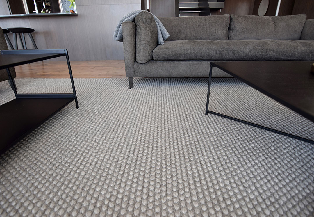 Large Woven Rug in a Luxurious Modern Space in Canada | Urba Rugs