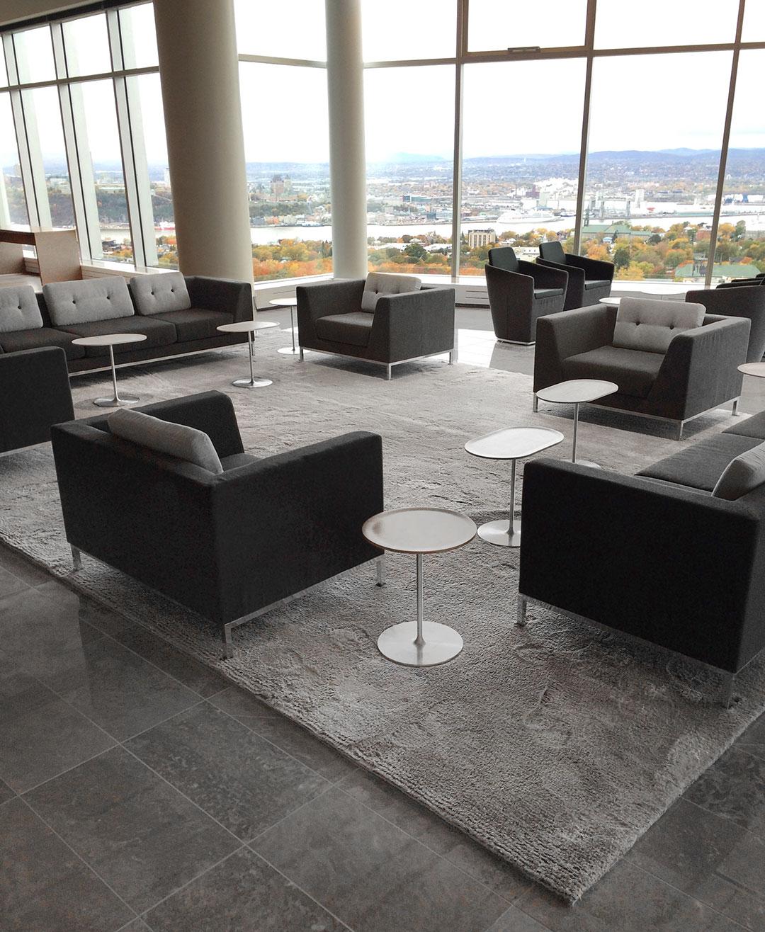 Exquisite Rug for Luxury Office Space | Custom Rug | Urba Rugs Canada