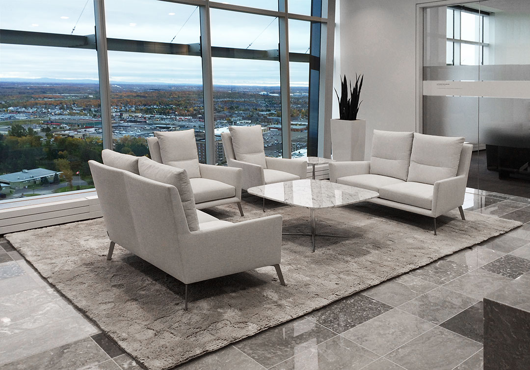 Luxurious Rug for Executive Waiting Room | Custom Rug | Urba Rugs