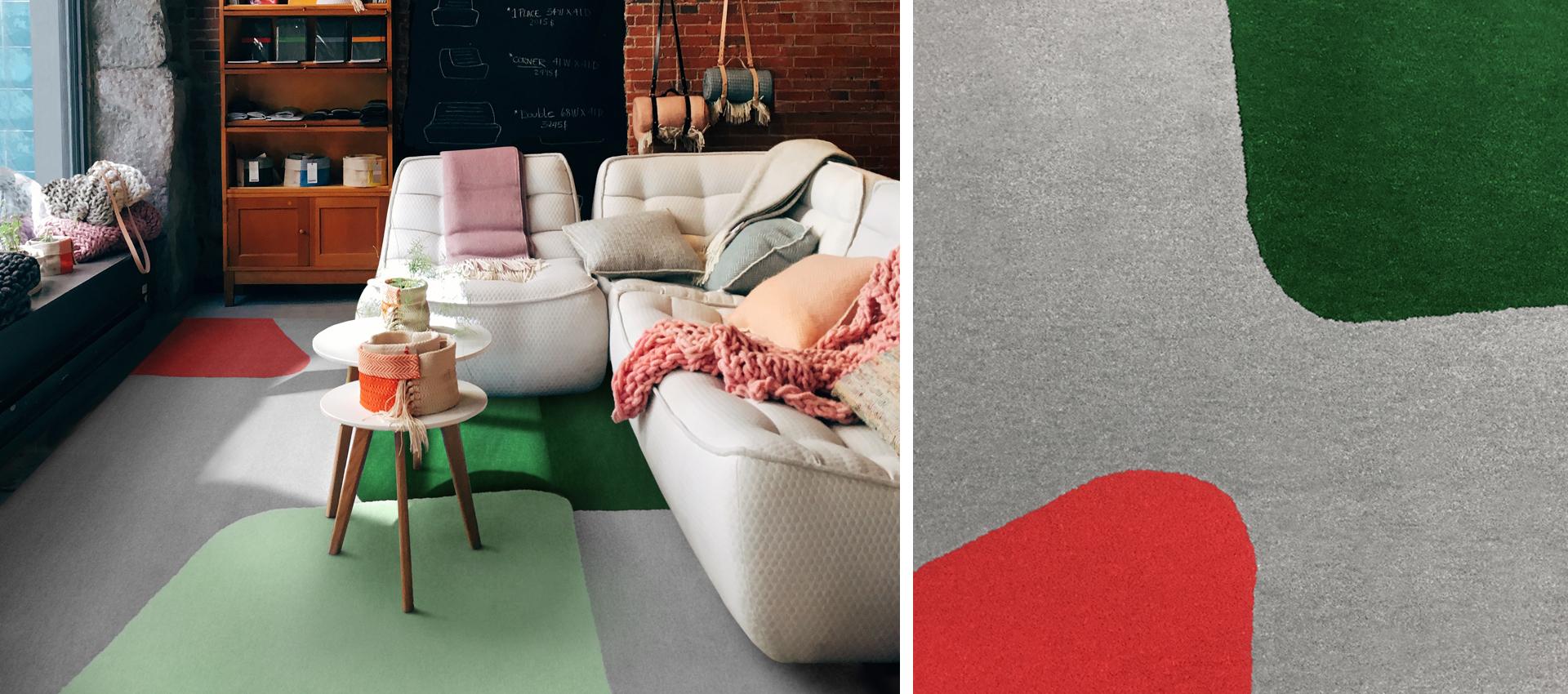 Alexander Calder-inspired Rug | Roch | Urba Rugs Canada