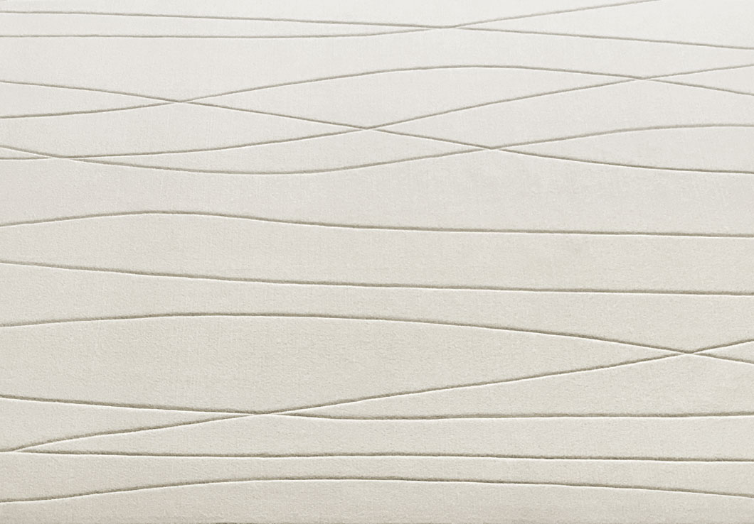 Close view of our Adele Rug in Cream | Urba Rugs