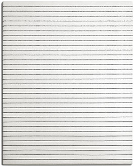 Black and White Fine Striped Rug | Elsa | Urba Rugs