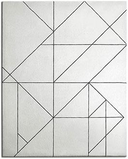 Art Deco Rug with Geometric, Angular Lines | Noah | Urba Rugs